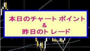 FX ユーロドル 本日のチャートポイント