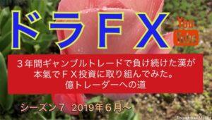ダウ売り、生きるか死ぬか。 6月24日 ドラFX LIVEトレード放送