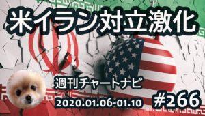 【週ナビ#266】米イラン対立激化するも、ドル円11月陽線はらみ足高安でガード。